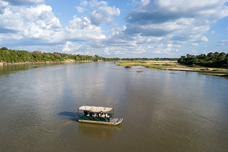 Boat Safari On The Rufiji River